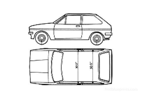 Ford Fiesta Mk I Hatchback 1979