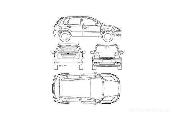 Ford Fiesta Mk IV 5-door Hatchback 2002