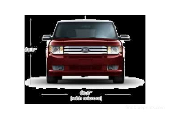 Ford Flex SUV 2011