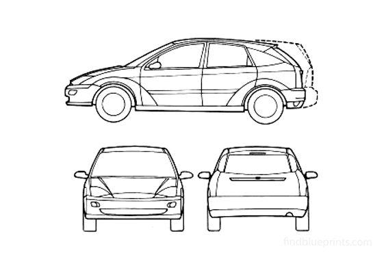 Ford Focus Hatchback 1999