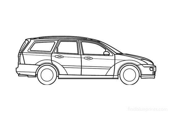 Ford Focus Wagon 2000