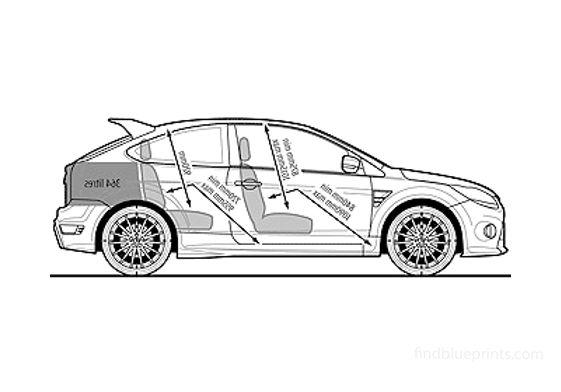 Ford Focus RS Hatchback 2009