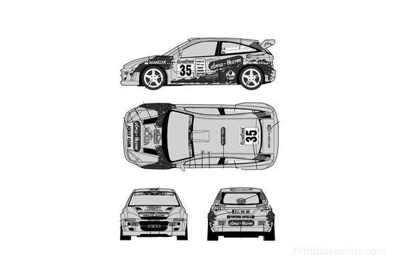 Ford Focus RS WRC Hatchback 2002