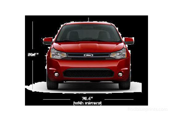 Ford Focus US Hatchback 2010