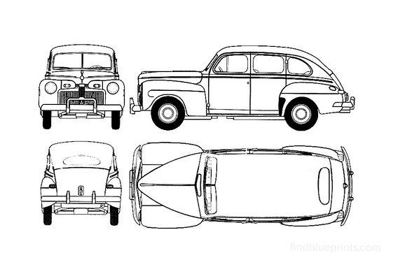 Ford Fordor Super DeLuxe Wagon 1942