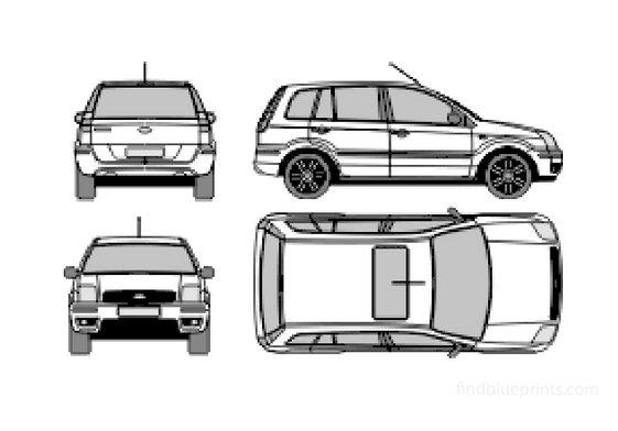 Ford Fusion Hatchback 2003