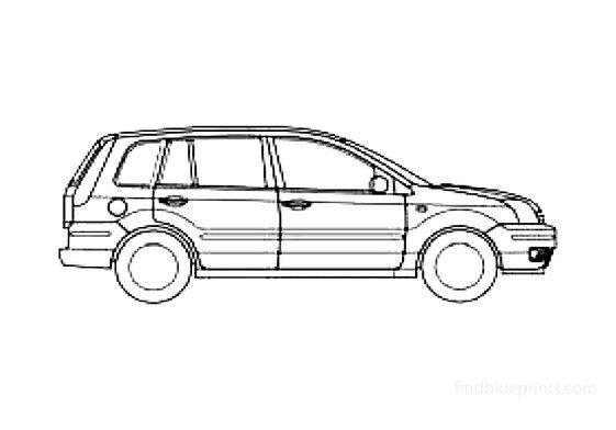 Ford Fusion Hatchback 2008
