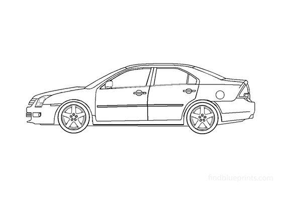 Ford Fusion Sedan 2002