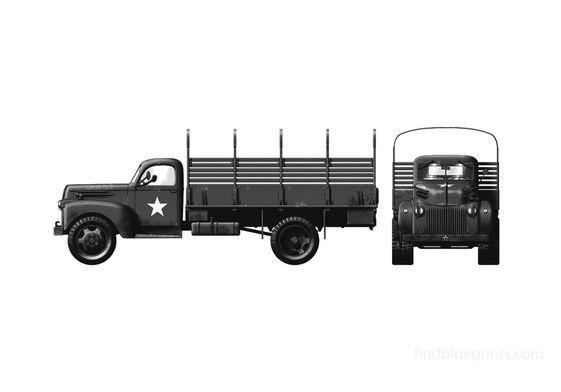 Ford G9T 1.5 ton 4x2 Truck 1942