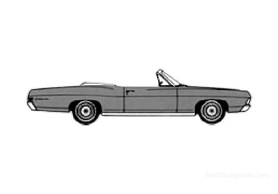 Ford Galaxie-500 Convertible Cabriolet 1968