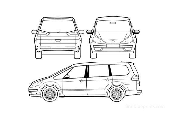 Ford Galaxy II Minivan 2007