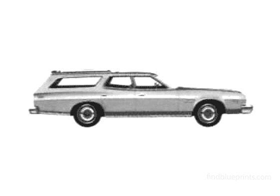 Ford Gran Torino Wagon 1975