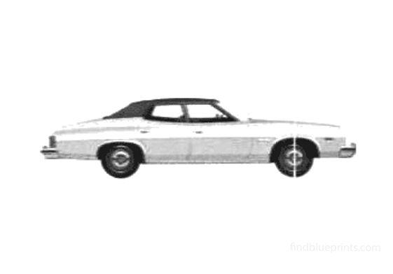 Ford Gran Torino 4-door Sedan 1975