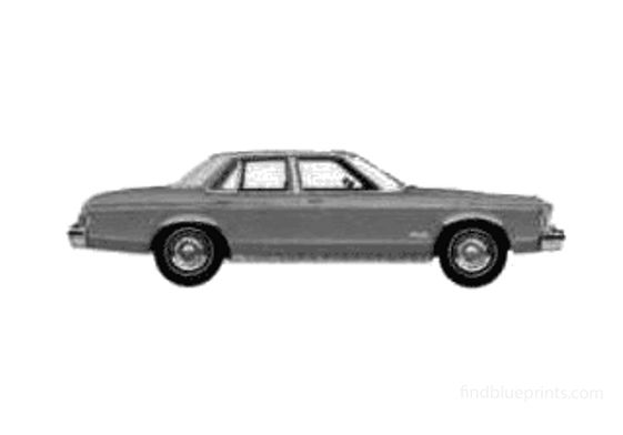 Ford Granada Sedan 1975