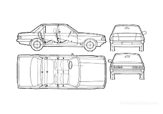 Ford granada Sedan 1982