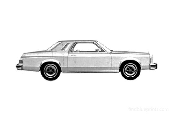 Ford Granada 2-door Sedan 1980