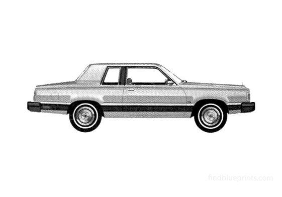 Ford Granada 2-door GLX Sedan 1981