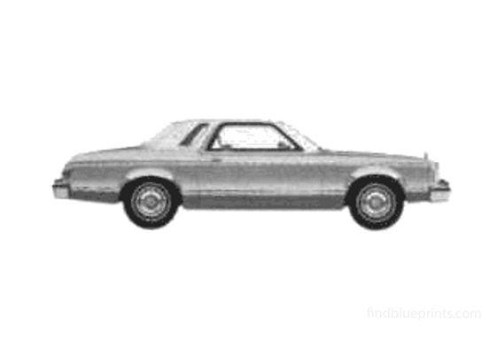 Ford Granada 2-door Hardtop Ghia Coupe 1975