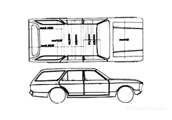 Ford Granada Estate Wagon 1972