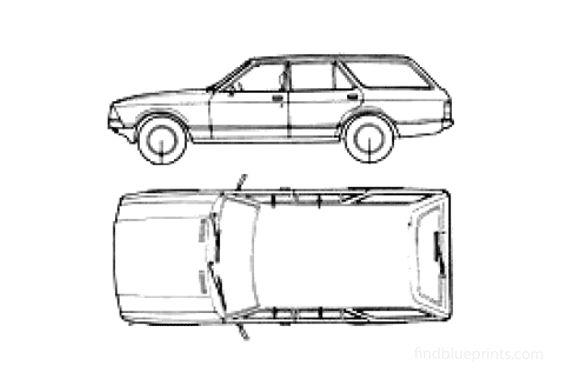 Ford Granada Estate Mk II Wagon 1979