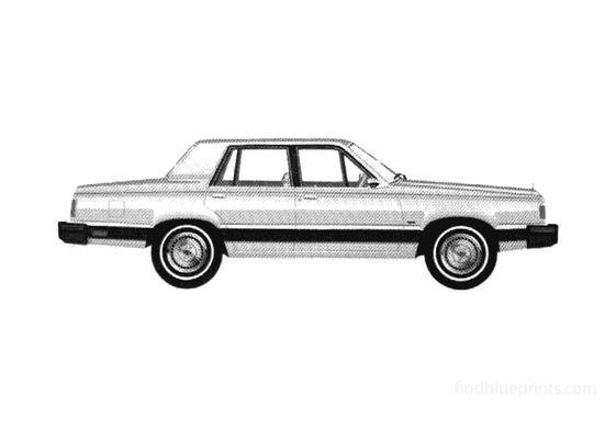 Ford Granada GLX Sedan 1981