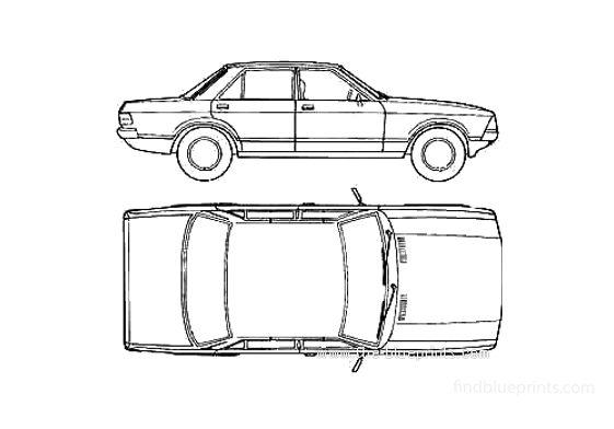 Ford Granada Mk II Sedan 1981