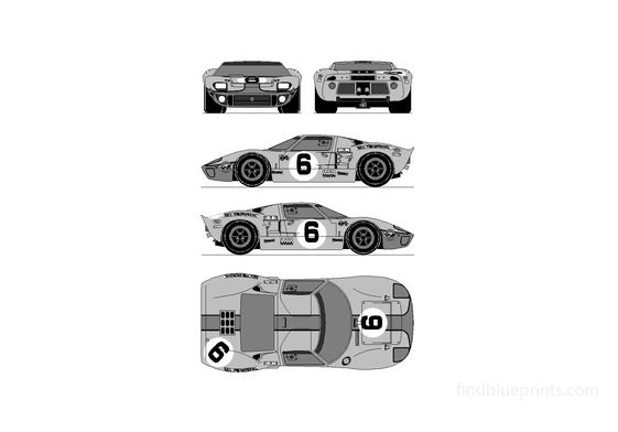Ford GT40 Coupe 1969