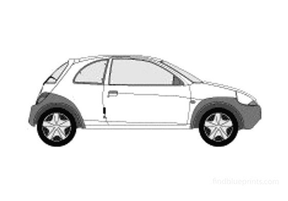 Ford Ka Hatchback 2005