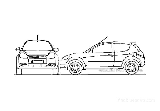 Ford Ka (Brazil) Hatchback 2011