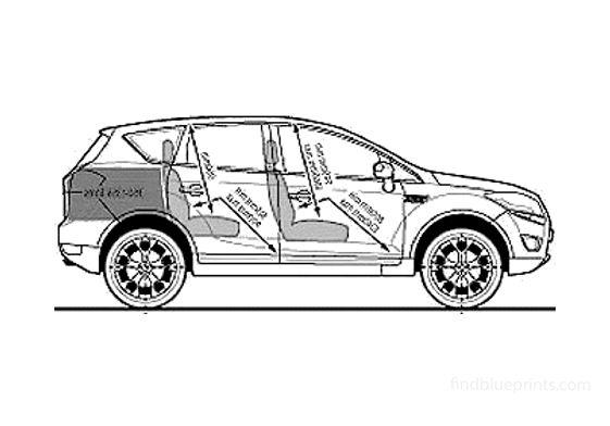 Ford Kuga 20 TDCi Titanium SUV 2008