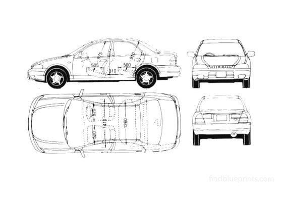 Ford Laser Sedan 1998