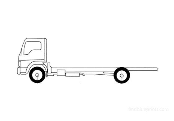 Ford LCF L45 Truck 2006