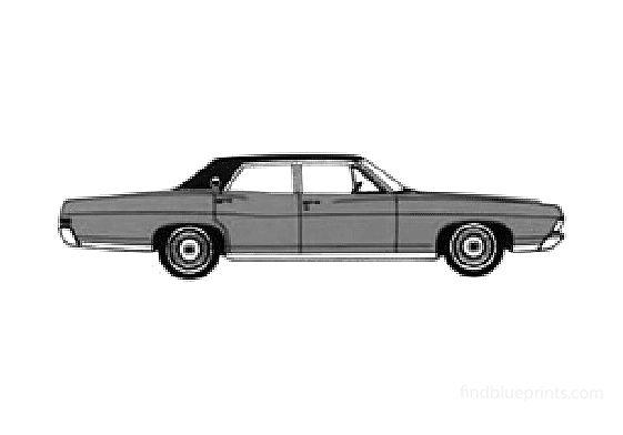 Ford LTD Sedan 1968