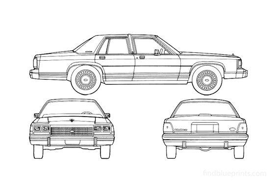 Ford LTD Sedan 1985