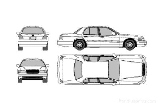 Ford LTD Sedan 2001