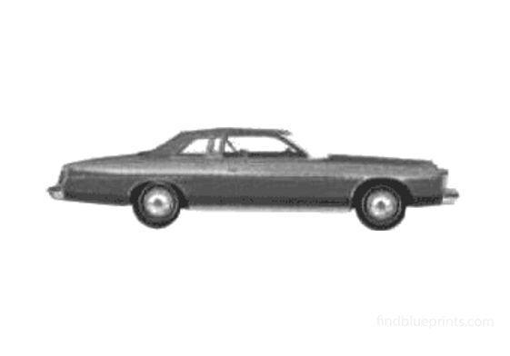 Ford LTD 2-door Hardtop Coupe 1975