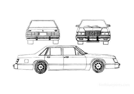 Ford LTD II Sedan 1983