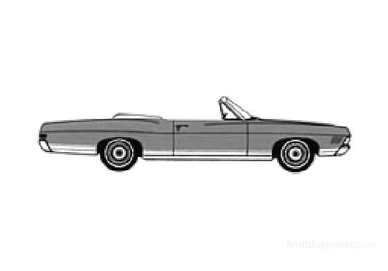 Ford LTD LX Convertible Cabriolet 1968