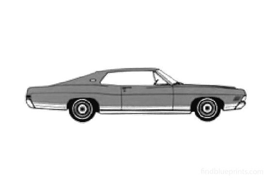 Ford LTD XL Fastback Coupe 1968