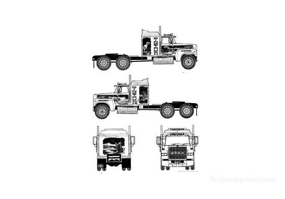 Ford LTL9000 Truck