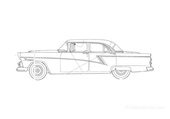 Ford Mainline Sedan 1955