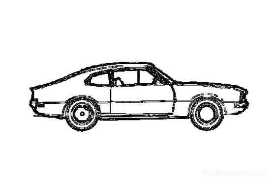Ford Maverick Grabber Coupe 1970