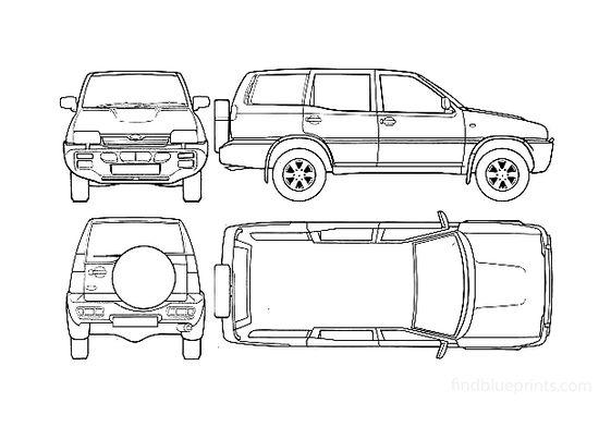Ford Maverick LWB SUV 1995