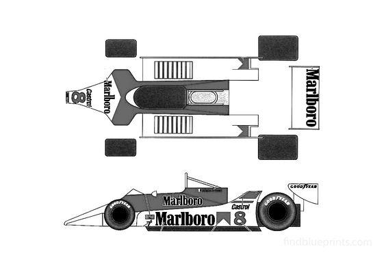 Ford McLaren M29C F1 OW 1980