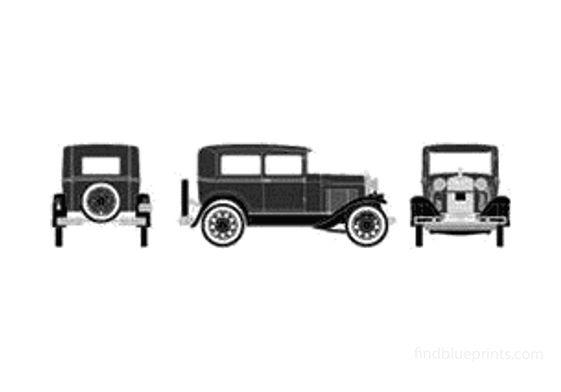 Ford Model A Sedan 1928