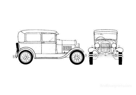 Ford Model A Wagon 1928
