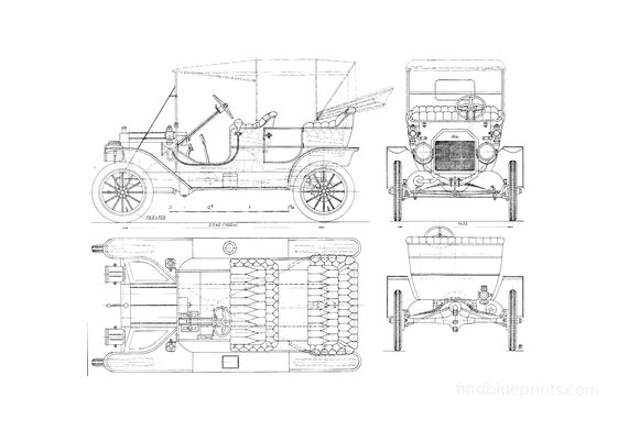 Ford Model T Cabriolet 1908