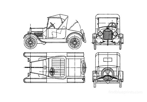 Ford Model T Cabriolet 1923