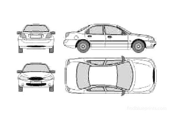 Ford Mondeo Sedan 1996