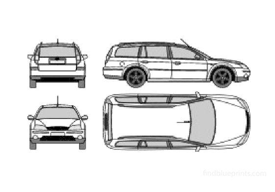 Ford Mondeo II Estate Wagon 2003